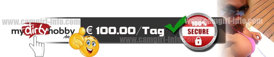 verdiene geld als camgirl bis zu 100euro